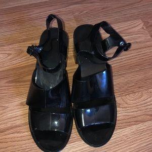 Size 11 American Apparel Sandals